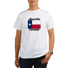 Austin Texas Organic Men's T-Shirt