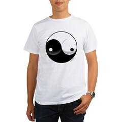Ying Yang Woman Organic Men's T-Shirt