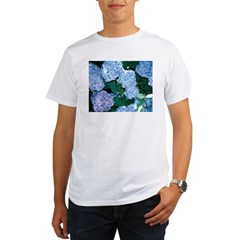 Blue Hydrangea Organic Men's T-Shirt