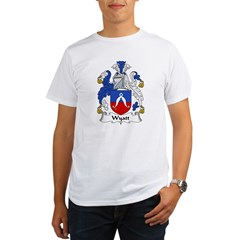 Wyatt Family Crest Organic Men's T-Shirt