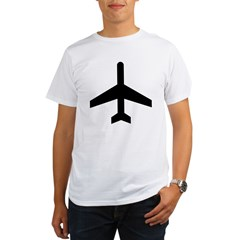 Aeroplane Organic Men's T-Shirt