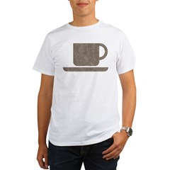 Vintage Coffee Organic Men's T-Shirt