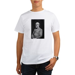 Robert E Lee (2) Organic Men's T-Shirt