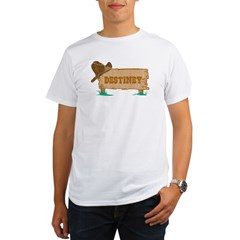 Destiney western Organic Men's T-Shirt