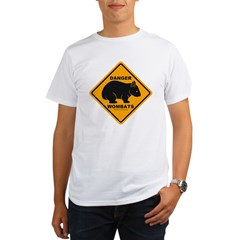 Wombat Danger Organic Men's T-Shirt