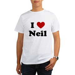 I Heart Neil Organic Men's T-Shirt