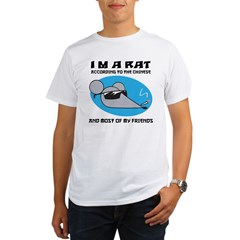 I'M A Rat Organic Men's T-Shirt
