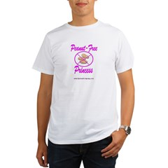 Peanut-Free Princess Organic Men's T-Shirt