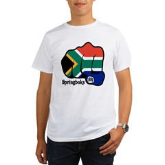 South Africa Fist 1889 Organic Men's T-Shirt