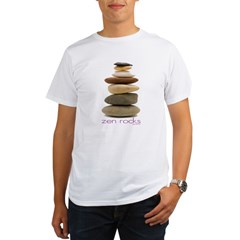 Zen Rocks Organic Men's T-Shirt