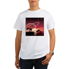 A Dolphins Dream Organic Men's T-Shirt
