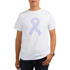 Lavender Ribbon Organic Men's T-Shirt