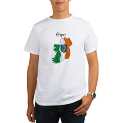 Ireland flag map Organic Men's T-Shirt