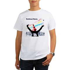 Political Party Organic Men's T-Shirt
