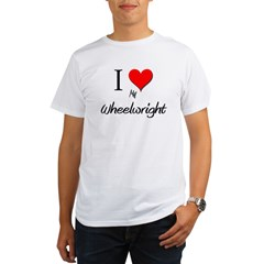 I Love My Wheelwrigh Organic Men's T-Shirt