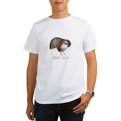 Strutting Grouse Organic Men's T-Shirt