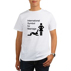 Symbol for Marriage Organic Men's T-Shirt