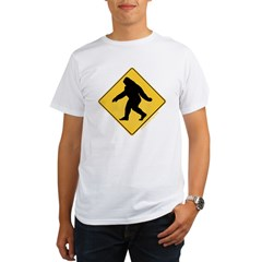 Big Foot Crossing Organic Men's T-Shirt