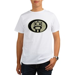 Math Bot E=mc2 Organic Men's T-Shirt