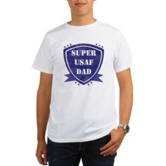 Super Air Force Dad Organic Men's T-Shirt