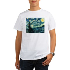 Vincent van Gogh's Starry Nigh Organic Men's T-Shirt