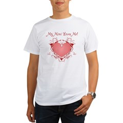 My Mimi Loves Me Hear Organic Men's T-Shirt