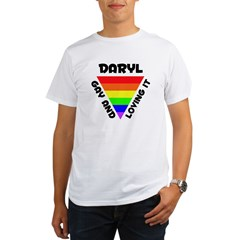 Daryl Gay Pride (#006) Organic Men's T-Shirt