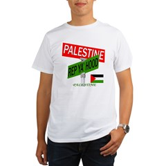 REP PALESTINE Organic Men's T-Shirt