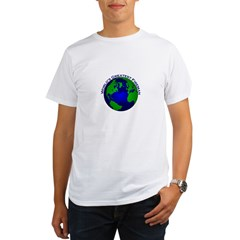 World's Greatest Fireman Organic Men's T-Shirt