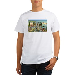 Greetings from New Hampshire Organic Men's T-Shirt