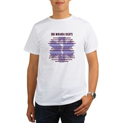 EMS Miranda Rights Gifts Organic Men's T-Shirt