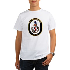 USS Gunston Hall LSD 44 Ash Grey Organic Men's T-Shirt