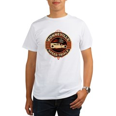 BONNEVILLE SALT FLAT TRIBUTE Organic Men's T-Shirt