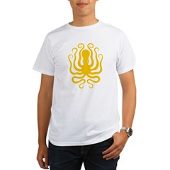Octapus 8 Big Organic Men's T-Shirt
