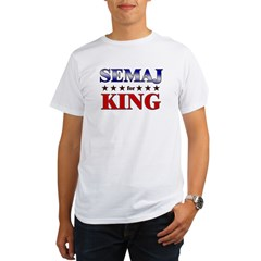 SEMAJ for king Organic Men's T-Shirt