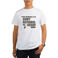 National Guard Girlfriend (tags) Organic Men's T-Shirt