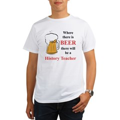 History Teacher Organic Men's T-Shirt