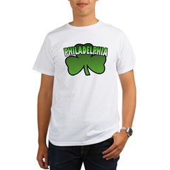 Philadelphia Shamrock Organic Men's T-Shirt