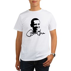 Obama Autographed Picture Organic Men's T-Shirt