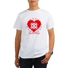 Queen of Quilts- Organic Men's T-Shirt