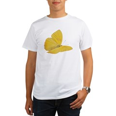 Yellow Butterfly Organic Men's T-Shirt