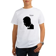 Barack Obama Hope Organic Men's T-Shirt