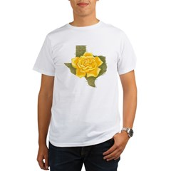 Yellow Rose of Texas Organic Men's T-Shirt