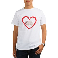 Sheep Heart Organic Men's T-Shirt