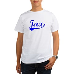 Vintage Jax (Blue) Organic Men's T-Shirt