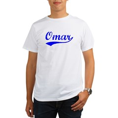 Vintage Omar (Blue) Organic Men's T-Shirt