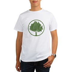 Vintage Tree Organic Men's T-Shirt
