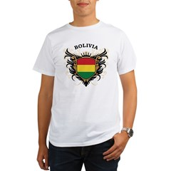 Bolivia Organic Men's T-Shirt