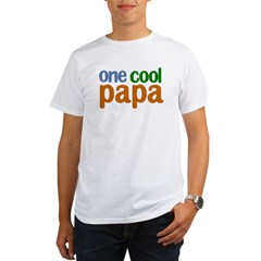 one cool papa grandpa t-shirts Organic Men's T-Shirt