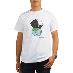 : 'Tapir on World' Organic Men's T-Shirt